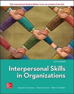 ISE Interpersonal Skills in Organizations -