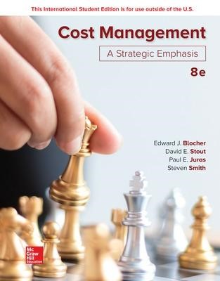 ISE Cost Management: A Strategic Emphasis - pr_71130