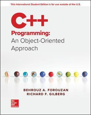 ISE C++ Programming: An Object-Oriented Approach -