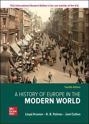 ISE A History of Europe in the Modern World -
