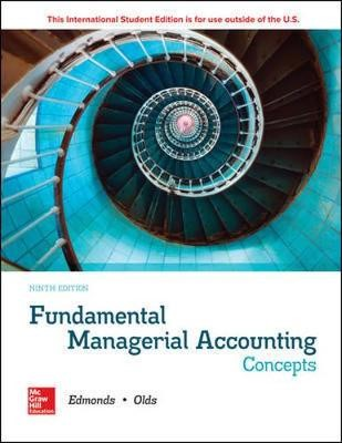 ISE Fundamental Managerial Accounting Concepts -