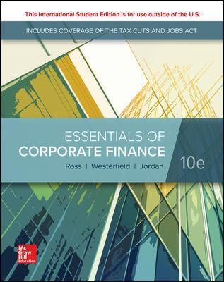 ISE Essentials of Corporate Finance -