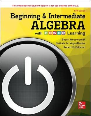 ISE Beginning and Intermediate Algebra with P.O.W.E.R. Learning - pr_1751176