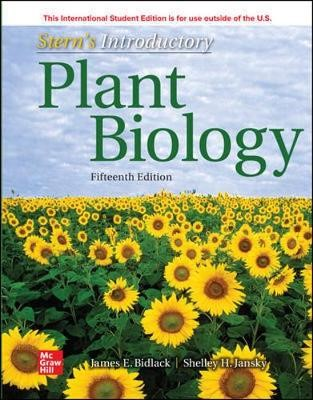 ISE Stern's Introductory Plant Biology - pr_1772805