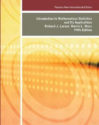 Introduction to Mathematical Statistics and Its Applications: Pearson New International Edition -
