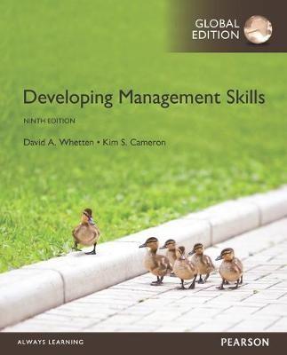 Developing Management Skills, Global Edition -