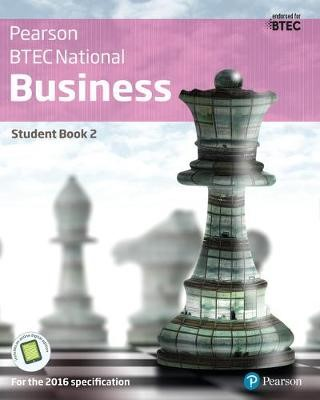 BTEC Nationals Business Student Book 2 + Activebook - pr_248863