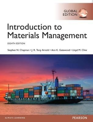 Introduction to Materials Management, Global Edition -