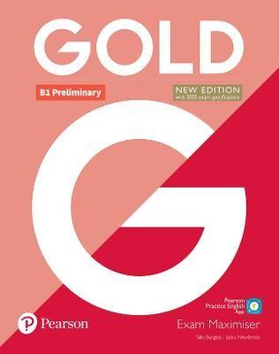 Gold B1 Preliminary New Edition Exam Maximiser -