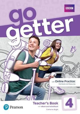 GoGetter 4 Teacher's Book with MyEnglishLab & Online Extra Homework + DVD-ROM Pack - pr_276741