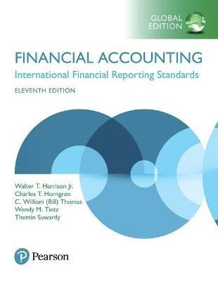 Financial Accounting, Global Edition -