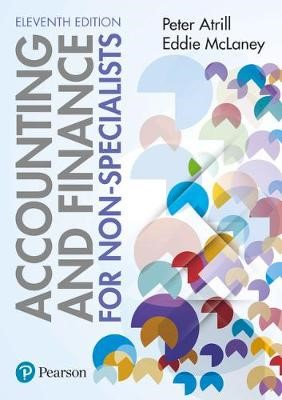 Accounting and Finance for Non-Specialists 11th edition + MyLab Accounting - pr_236998