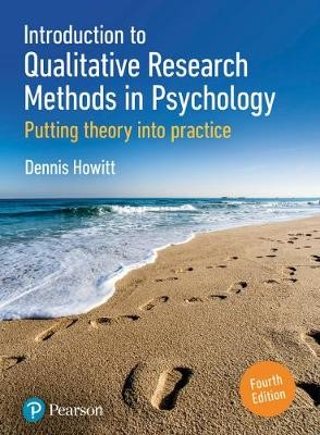 Introduction to Qualitative Research Methods in Psychology -