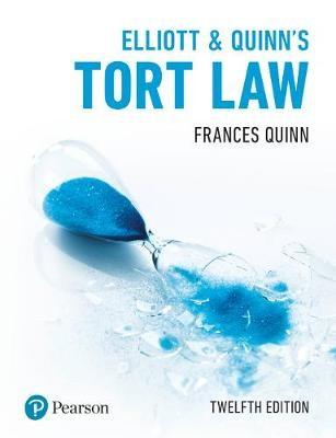 Elliott & Quinn's Tort Law -