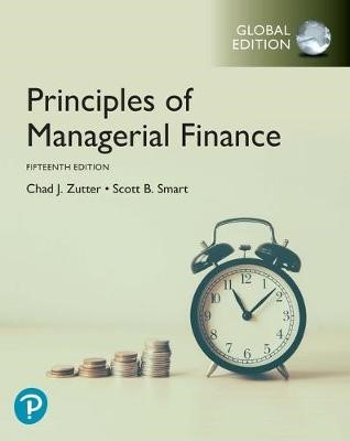 Principles of Managerial Finance, Global Edition -