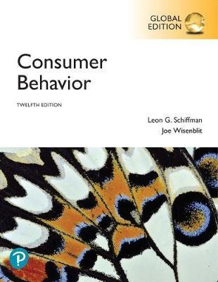 Consumer Behavior, Global Edition -