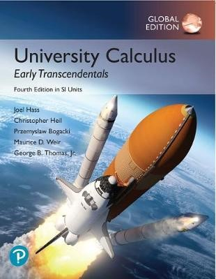University Calculus: Early Transcendentals, Global Edition - pr_303322