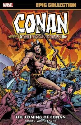 Conan The Barbarian: The Original Marvel Years Epic Collection - The Coming Of Conan - pr_1813311