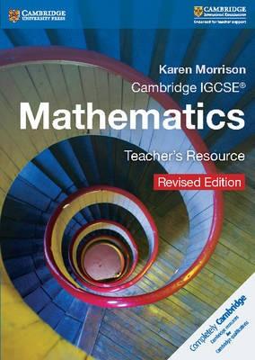 Cambridge IGCSE (R) Mathematics Teacher's Resource CD-ROM Revised Edition - pr_19054