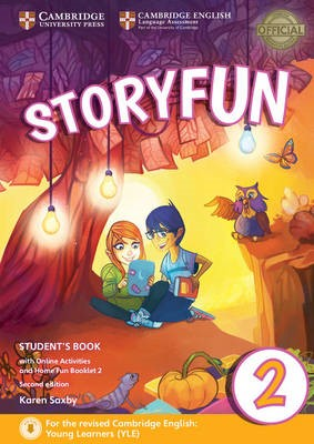 Storyfun for Starters Level 2 Student's Book with Online Activities and Home Fun Booklet 2 - pr_405109