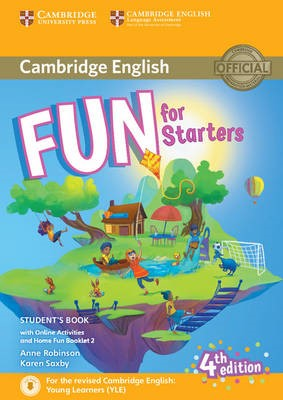 Fun for Starters Student's Book with Online Activities with Audio and Home Fun Booklet 2 -