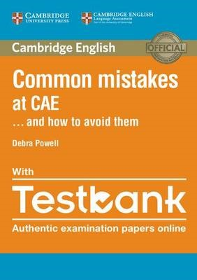 Common Mistakes at CAE... and How to Avoid Them Paperback with Testbank - pr_20424