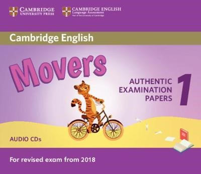 Cambridge English Movers 1 for Revised Exam from 2018 Audio CDs (2) - pr_11851