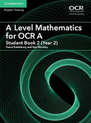 A Level Mathematics for OCR A Student Book 2 (Year 2) - pr_30936