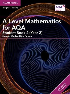 A Level Mathematics for AQA Student Book 2 (Year 2) with Cambridge Elevate Edition (2 Years) - pr_18517