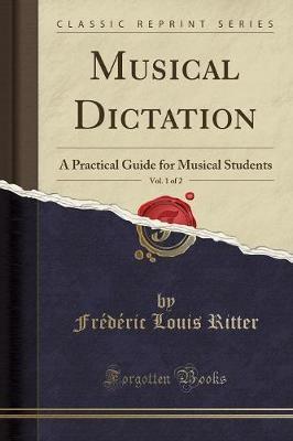 Musical Dictation, Vol. 1 of 2 - pr_18438