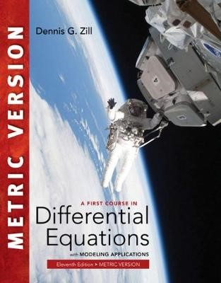 A First Course in Differential Equations with Modeling Applications, International Metric Edition - pr_314167