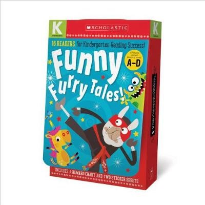Funny Furry Tales A-D Kindergarten Reader Box Set: Scholastic Early Learners (Guided Reader) - pr_1761377