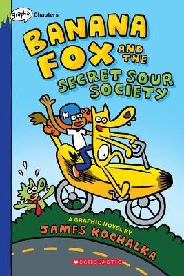 Banana Fox and the Secret Sour Society: A Graphix Chapters Book (Banana Fox #1), 1 -