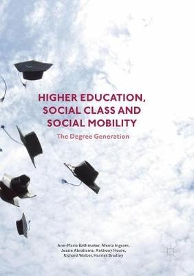 Higher Education, Social Class and Social Mobility - pr_63993