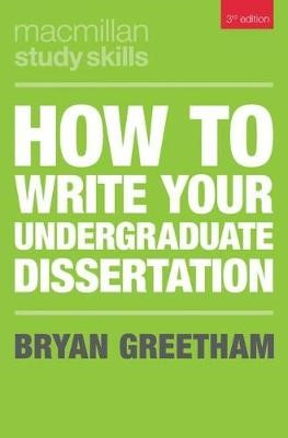 How to Write Your Undergraduate Dissertation - pr_313807