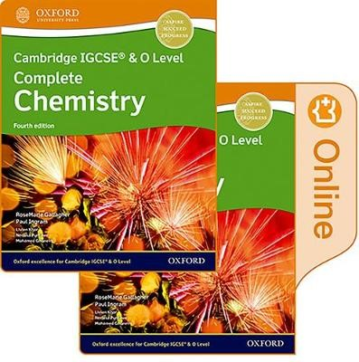 Cambridge IGCSE (R) & O Level Complete Chemistry: Print and Enhanced Online Student Book Pack Fourth Edition -