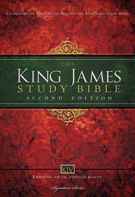 KJV Study Bible, Large Print, Hardcover, Red Letter - pr_138082