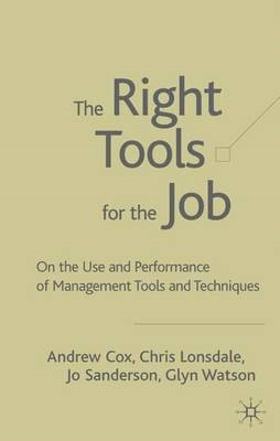 The Right Tools for the Job - pr_37542