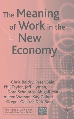 The Meaning of Work in the New Economy - pr_31100