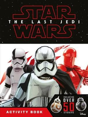 Star Wars The Last Jedi Activity Book with Stickers - pr_14087