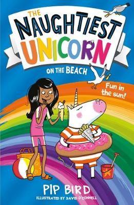 The Naughtiest Unicorn on the Beach -