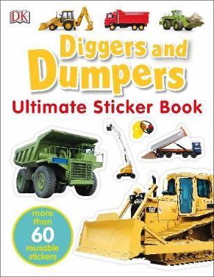 Diggers & Dumpers Ultimate Sticker Book -