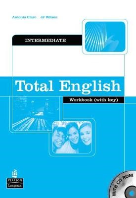 Total English Intermediate Workbook with Key and CD-Rom Pack - pr_17613