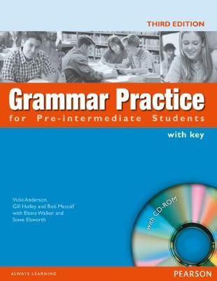 GRAMMAR PRACTICE PRE-INTERM.   STBK WITH KEY        585296 - pr_17599