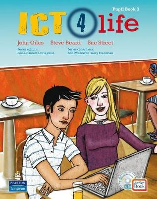 ICT 4 Life Year 9 Students' ActiveBook Pack with CDROM - pr_17560