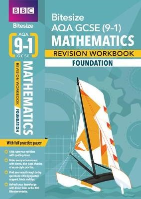 BBC Bitesize AQA GCSE (9-1) Maths Foundation Workbook for home learning, 2021 assessments and 2022 exams -