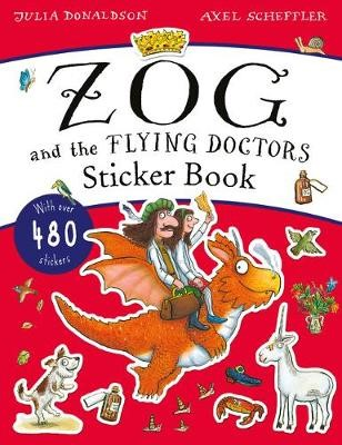 The Zog and the Flying Doctors Sticker Book (PB) -