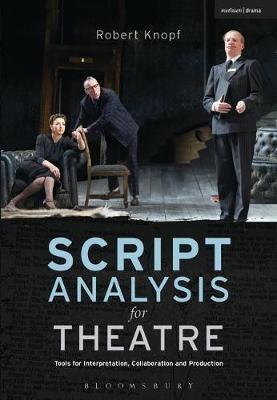 Script Analysis for Theatre -