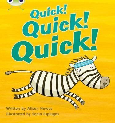 Bug Club Phonics Fiction Reception Phase 3 Set 07 Quick! Quick! Quick! -