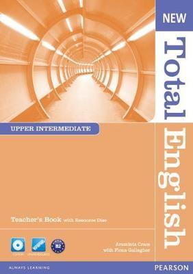 New Total English Upper Intermediate Teacher's Book and Teacher's Resource CD Pack -
